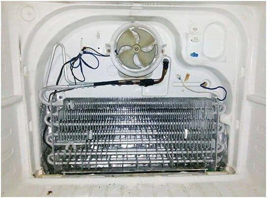 Морозилка из двух радиаторов