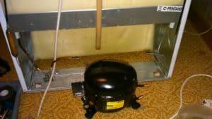 Замена мотор-компрессора в холодильнике