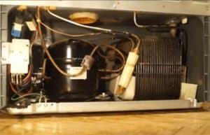 Мотор и конденсатор