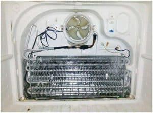 Нарушение работы холодильного вентилятора