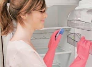 Почему появляется запах в холодильной камере